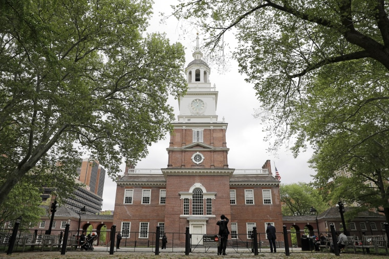 Image: Independence Hall in Philadelphia