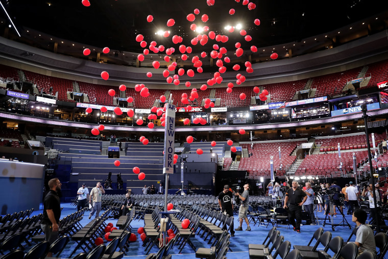 Image: Philadelphia Prepares To Host Democratic National Convention