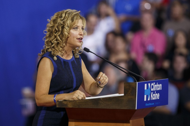 Image: Debbie Wasserman Schultz, chairperson of the Democratic National Committee (DNC)