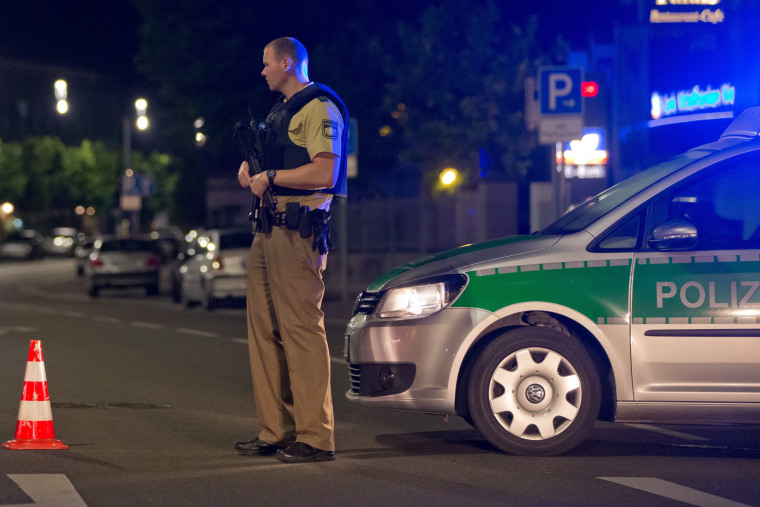 Image: Explosion in Ansbach