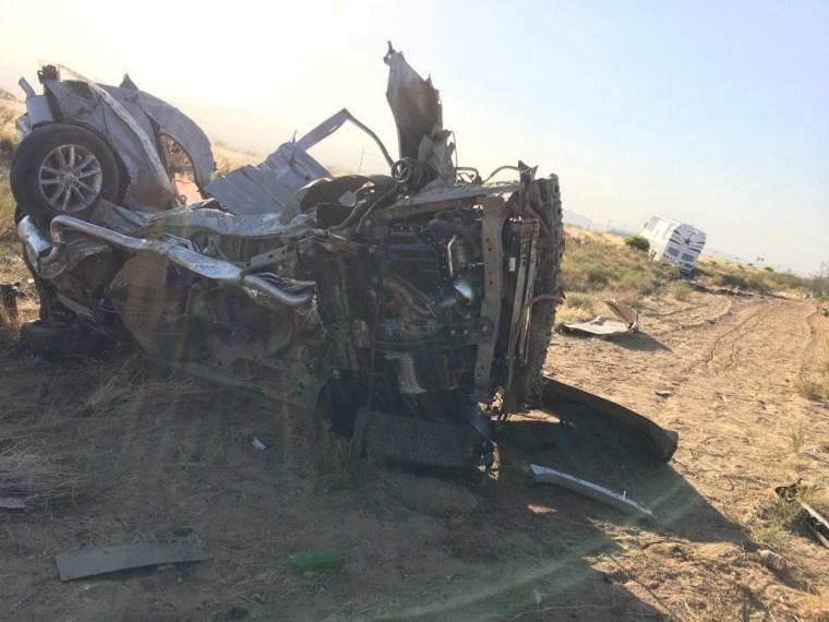 IMAGE: Cowboys bus crash