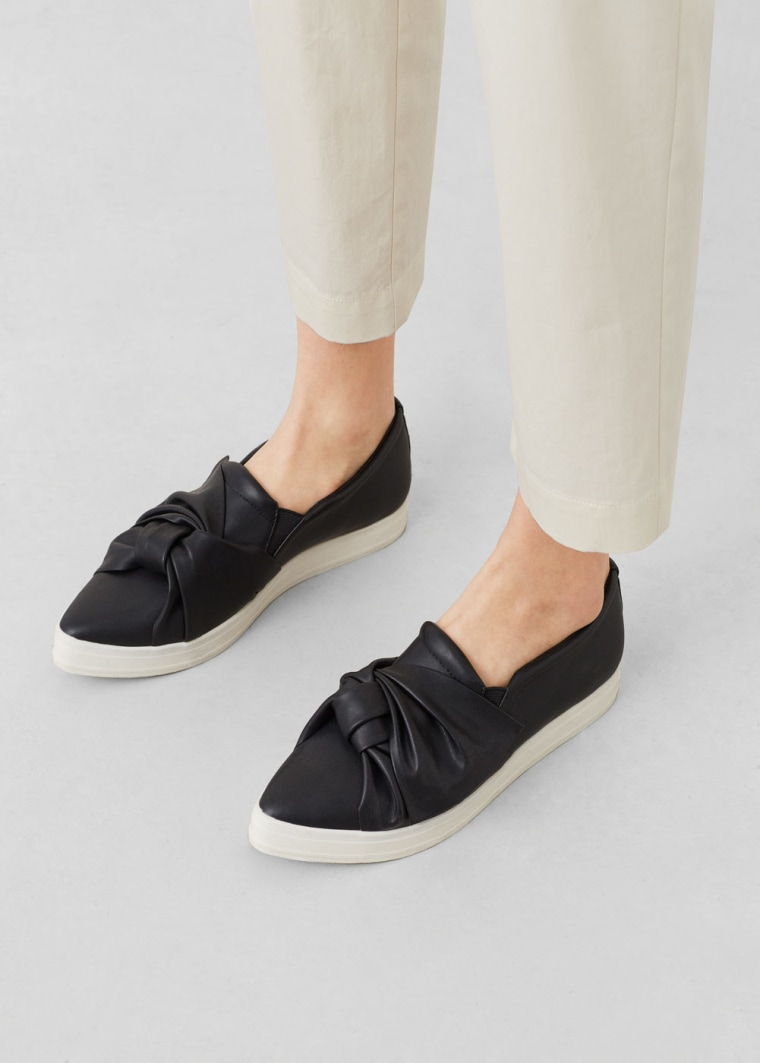 MANGO slip on sneakers