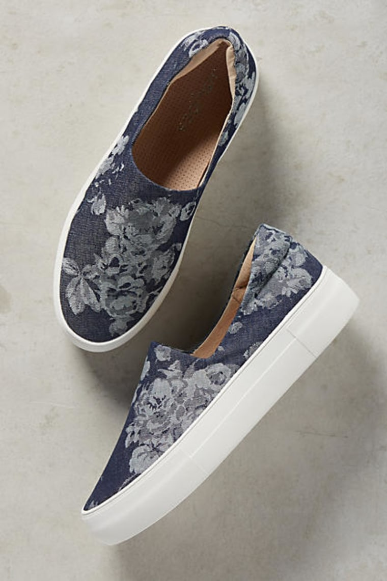 Anthropologie denim sneakers
