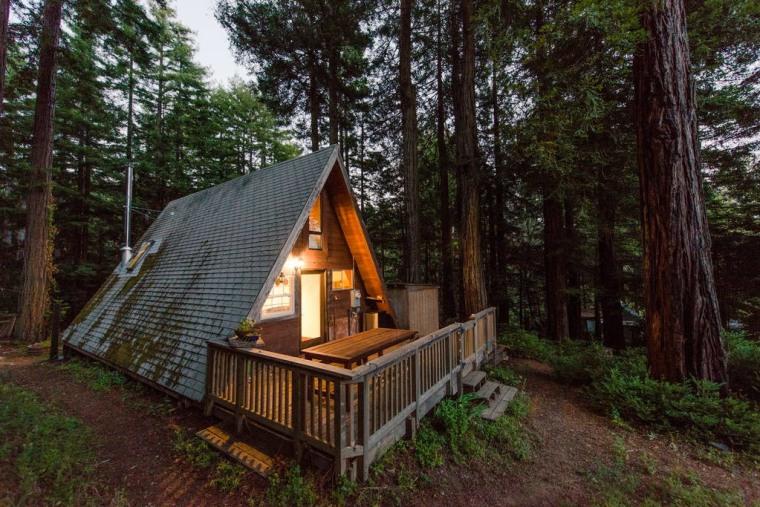 Cozy A-Frame Cabin