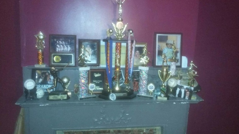 Braheim has won a lot of awards and trophies for his accomplishments in baseball.