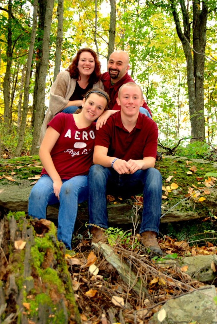 Shawn Henfling and family