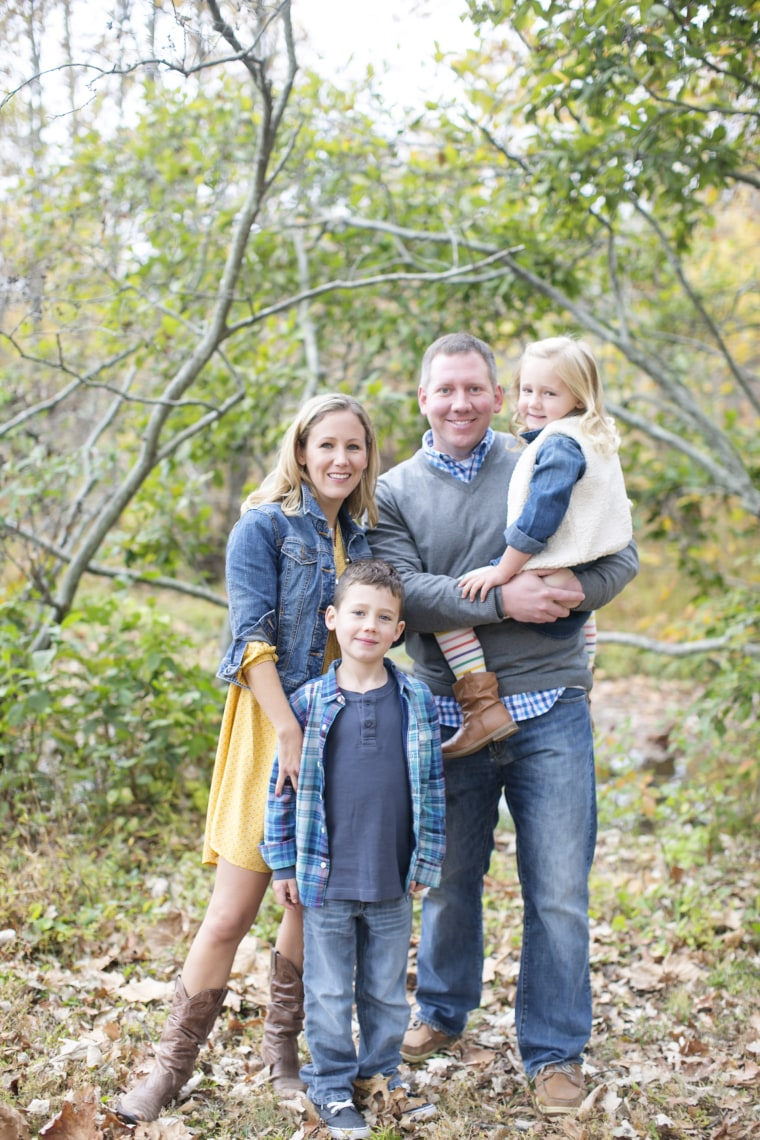 Jennifer Marshall and family
