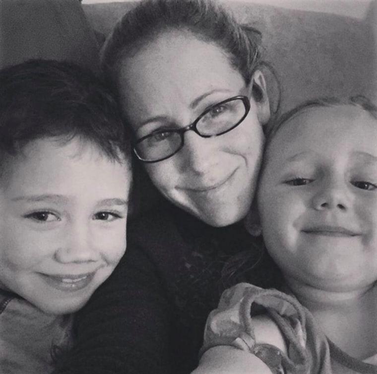 Jennifer Marshall and kids