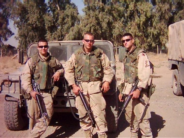 Seth Kastle in uniform
