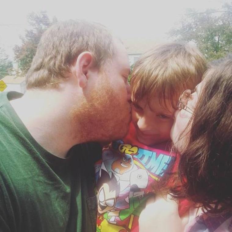 Jennifer Corter and family