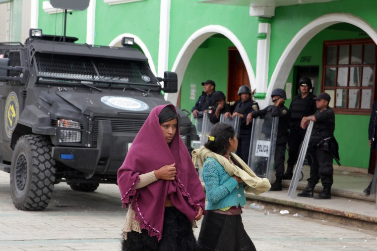Mayor, administrator of indigenous community slain in southeast Mexico