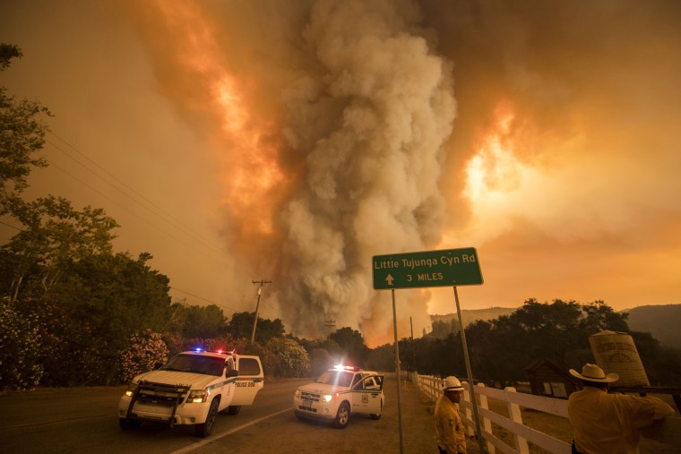 Wildfire Smoke Pool Ring