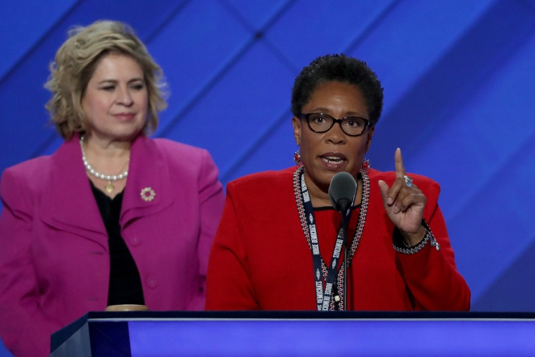 Image: Democratic National Convention: Day One