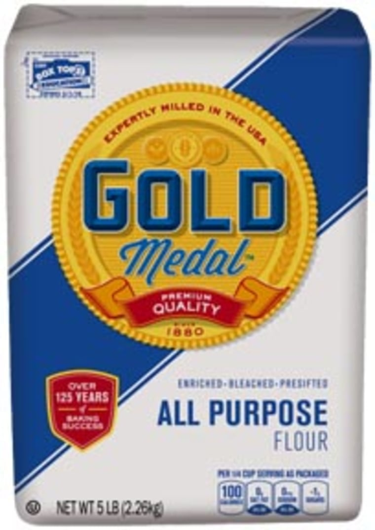 General Mills widened its recall of potentially contaminated flour, including this brand