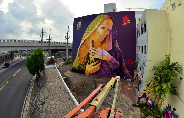 ITNI mural in San Juan, Puerto Rico, 2013