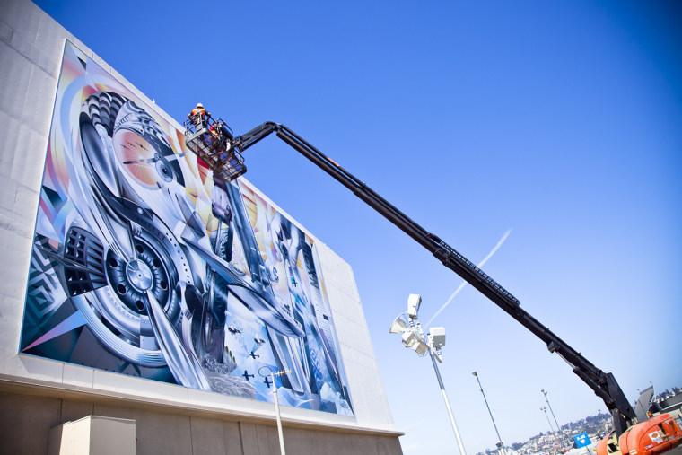 Werc installation at San Diego International Airport in 2013.
