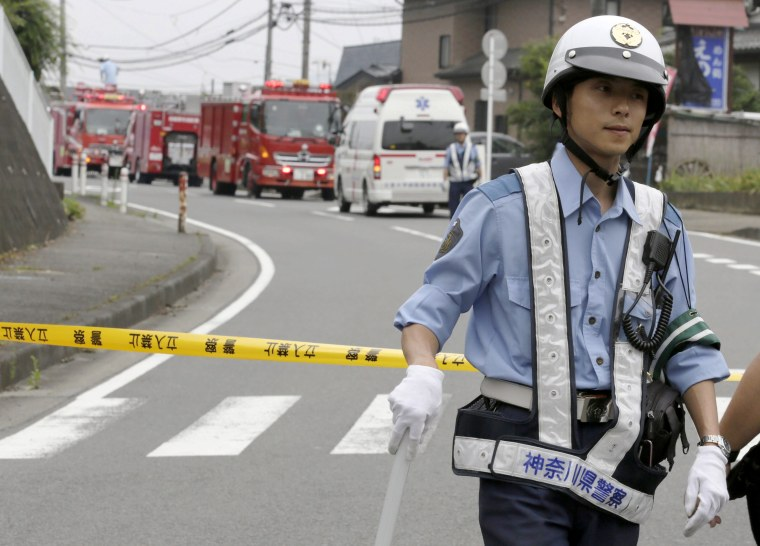 Image: A man stabbed care facility residents in Japan killing at least 19