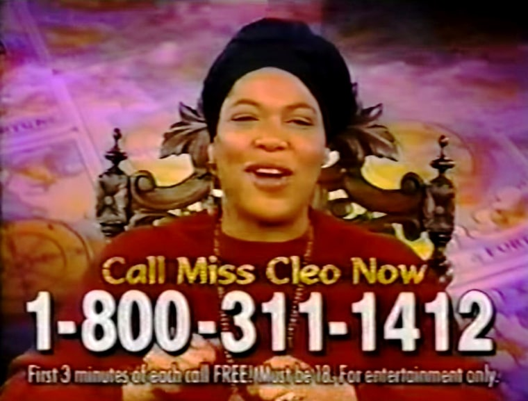 Famous for her commercials from TV psychic, Miss Cleo died Tuesday at age 53.