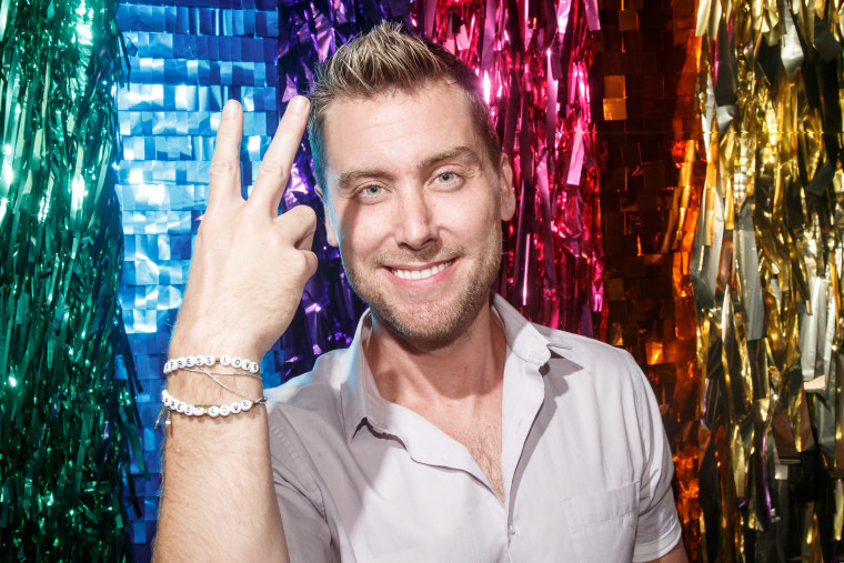 """Lance Bass attends American Express's """"Express Love"""" Pride event at The Spotted Pig on June 20, 2016 in New York City."""