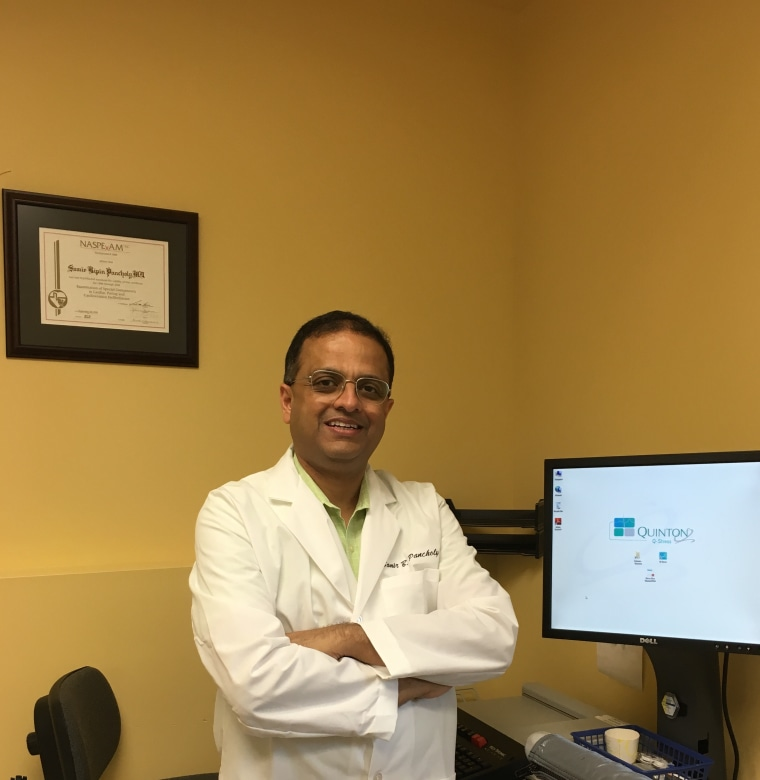 Pennsylvania-based Dr. Samir Pancholy, who invented a device to help patients who need catheters.