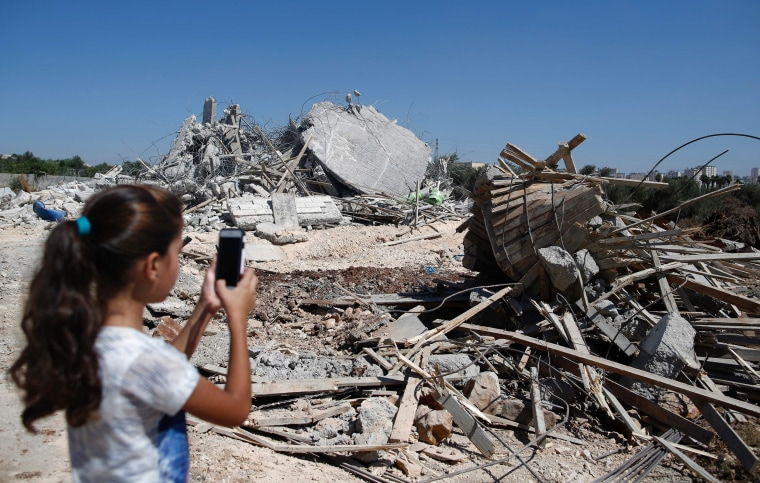 Image: TOPSHOT-PALESTINIAN-ISRAEL-CONFLICT