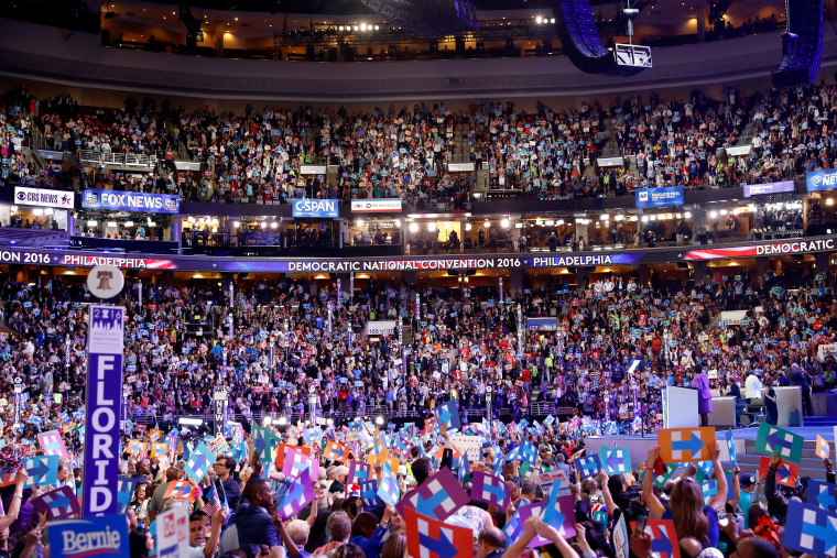Image: Democratic National Convention: Day Two