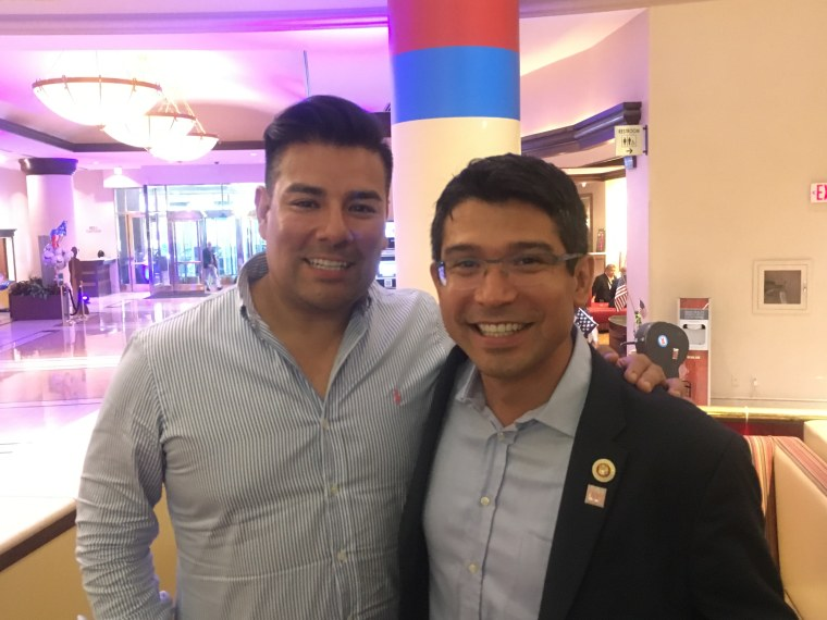 Ricardo Lara, D-California and Carlos Menchaca, D-New York