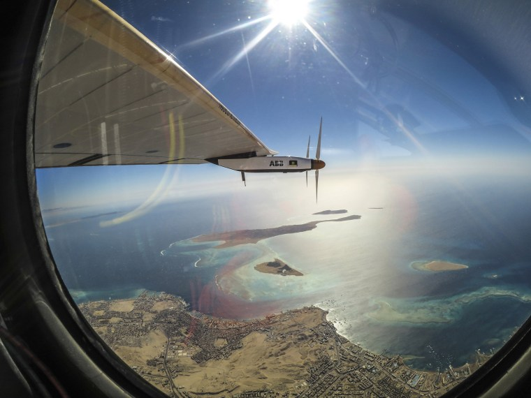 Image: Solar Impulse 2 Completes Circumnavigation of the Earth