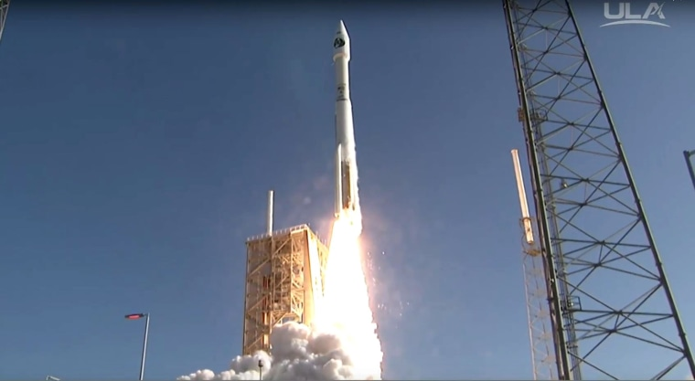 Live launch coverage of ULA's Atlas V rocket launching the NROL-61 mission for the National Reconnaissance Office.