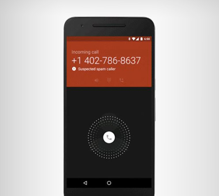 Google has updated its phone app with spam protection.