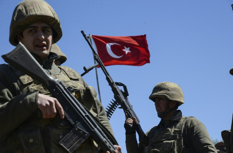 Image: FILES-TURKEY-ARMY-MILITARY-COUP