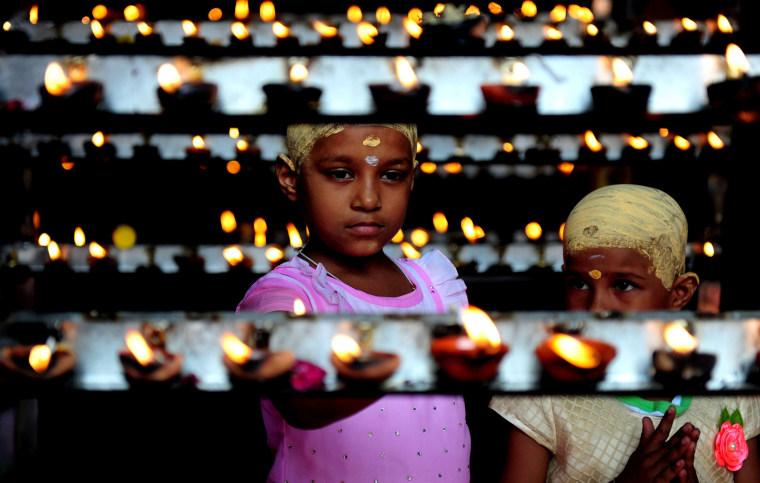 Image: TOPSHOT-INDIA-RELIGION-HINDUISM