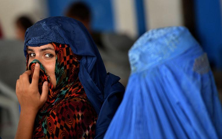 Image: TOPSHOT-PAKISTAN-AFGHANISTAN-REFUGEE