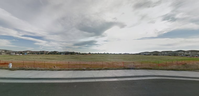 This still, taken from Google Street View, shows the site of the future Singh and Kaur Park in Elk Grove, California.