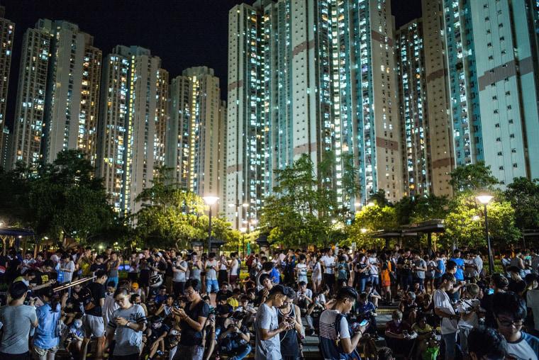 Image: BESTPIX - Pokemon Go Launches In Hong Kong