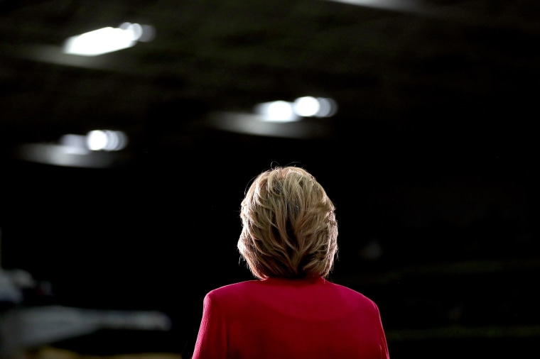 Image: Hillary Clinton And Tim Kaine Take Campaign Bus Tour Through Pennsylvania And Ohio