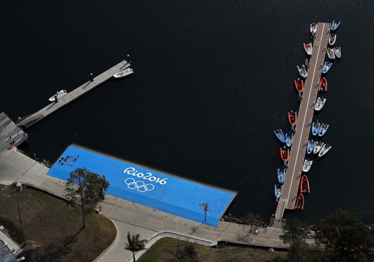 Image: Two Weeks Out, Rio Continues Preparations For The 2016 Olympics