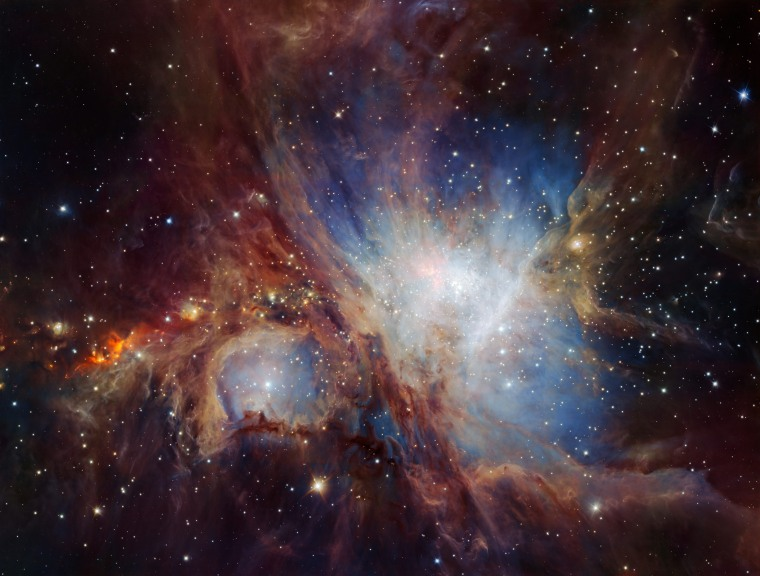 Image: A deep infrared view of the Orion Nebula from HAWK-I