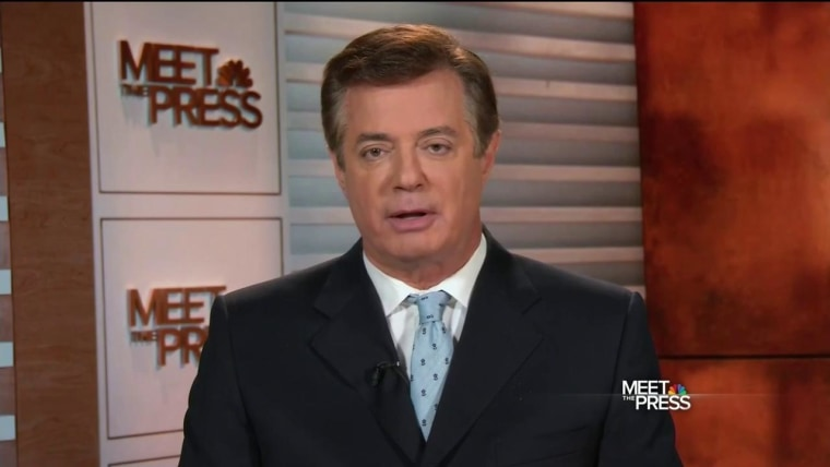 PAUL MANAFORT ON NBC'S MEET THE PRESS