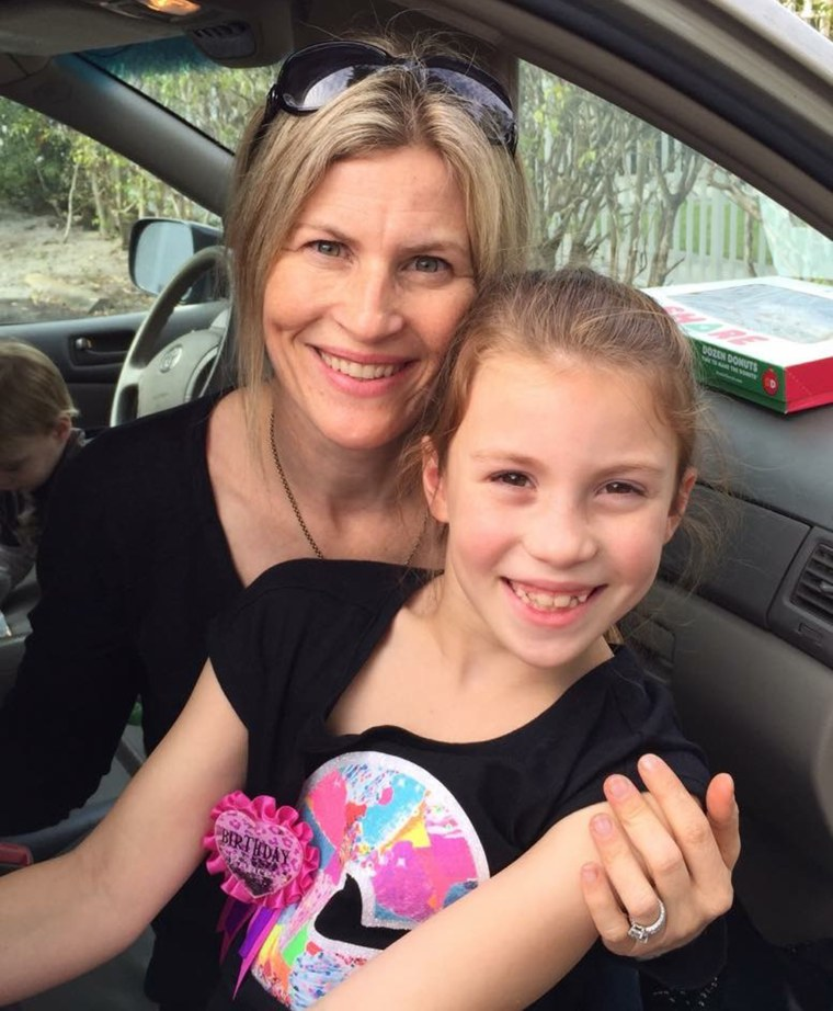 Kelcey Kintner and her daughter Summer