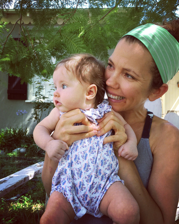 Carri Kessler and her daughter Margot