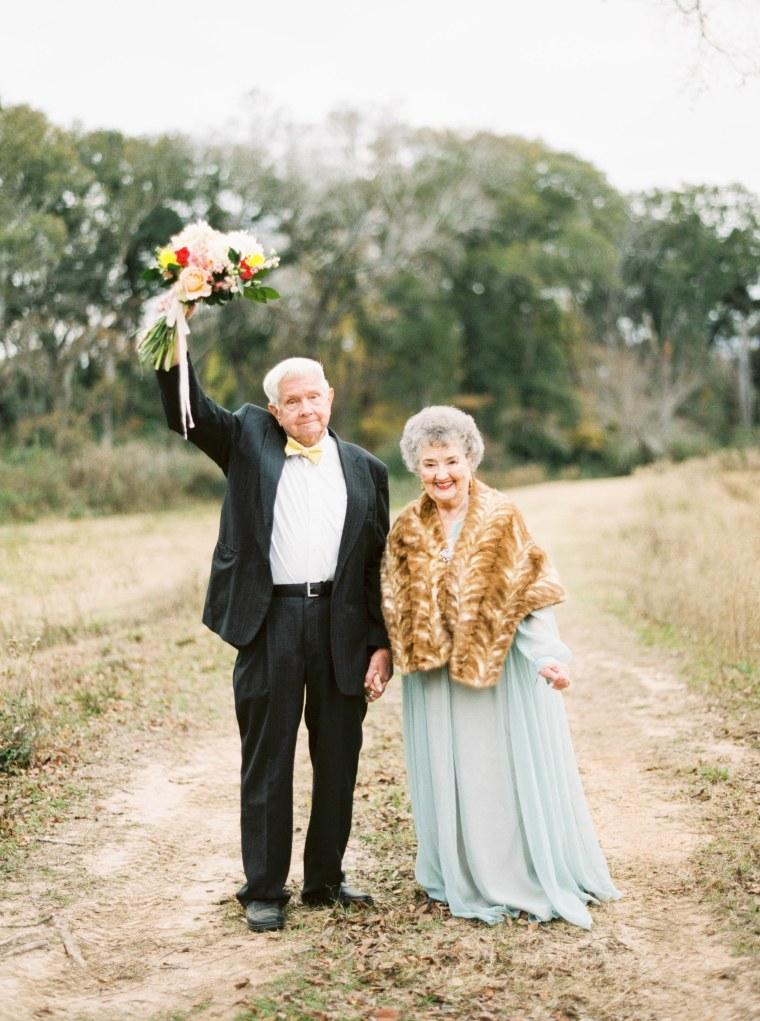 Joe Ray and Billie Wanda Johnson, grandparents of Shalyn Nelson