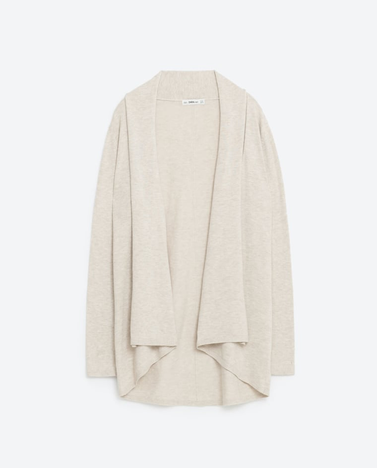 Zara draped cardigan