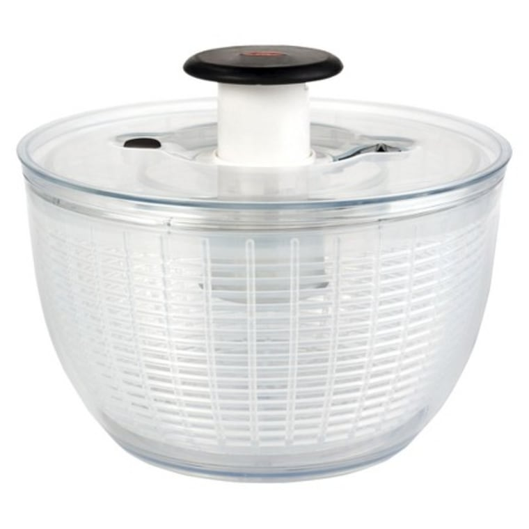 Believe it or not, a salad spinner is a great way to get rid of excess water on delicate fabrics.