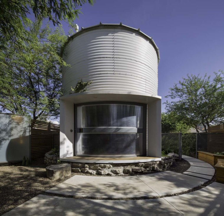 See Inside This Tiny Home That's Made Out Of A Grain Silo