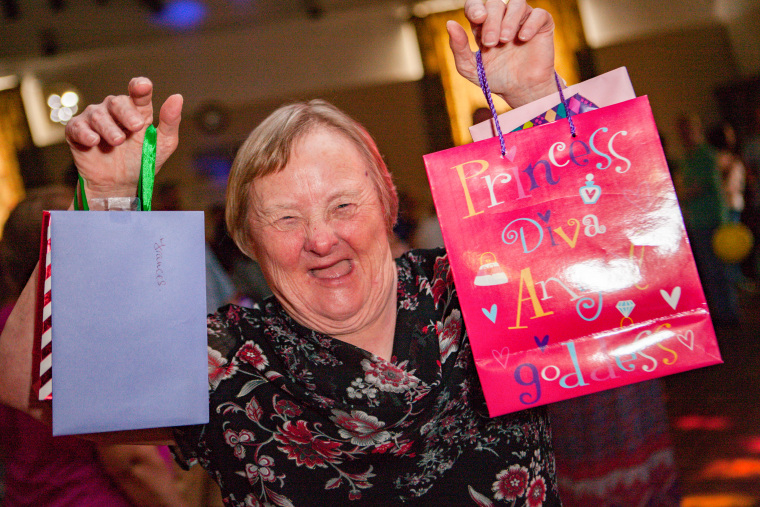 Oldest woman with Down's syndrome in world