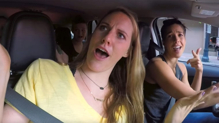 2016 USA Olympic Swim Team Carpool Karaoke