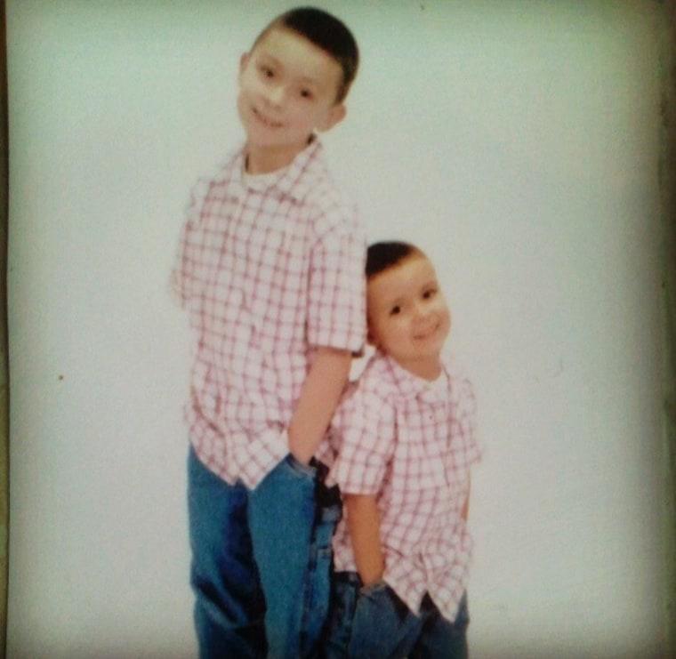 The DeGonzaque brothers share bond after kidney transplant
