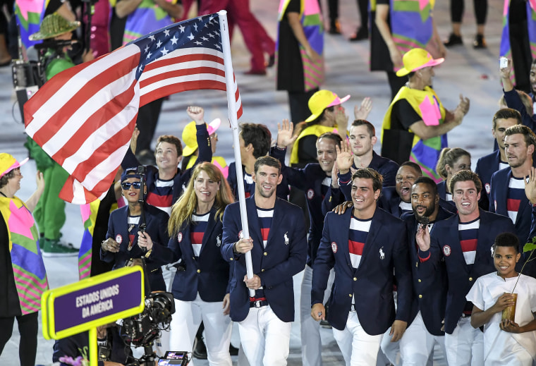 Opening ceremonies of the 2016 Summer Olympic Games