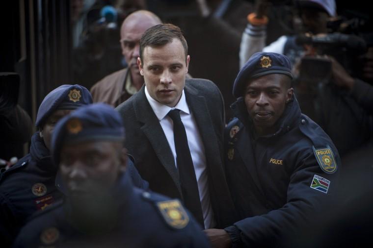 Image: Oscar Pistorius in July.